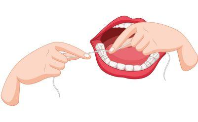 Flossing Best Dentist Guelph